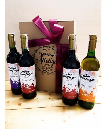 Wino świąteczne w kartoniku