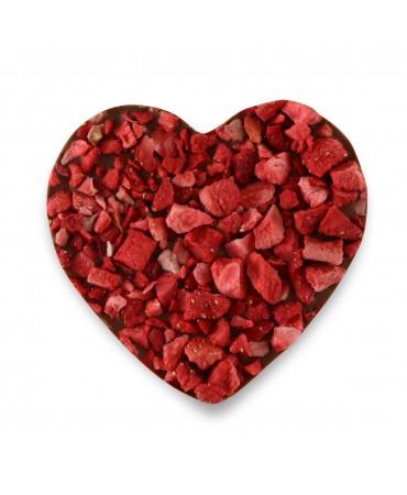 Serce z czekolady