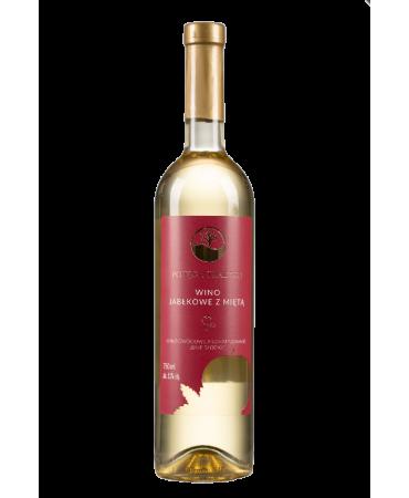 Wino Jabłko- mięta - Potęga Tradycji- www.alkoholewybrane.pl