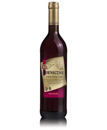 Malinowe wino Piwniczne