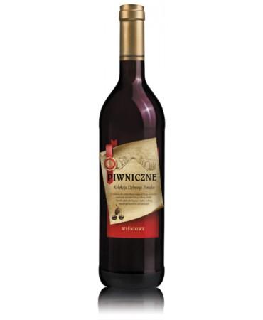Wiśniowe wino Piwniczne