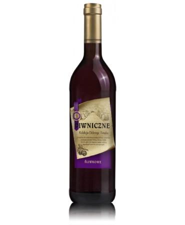 Śliwkowe wino Piwniczne
